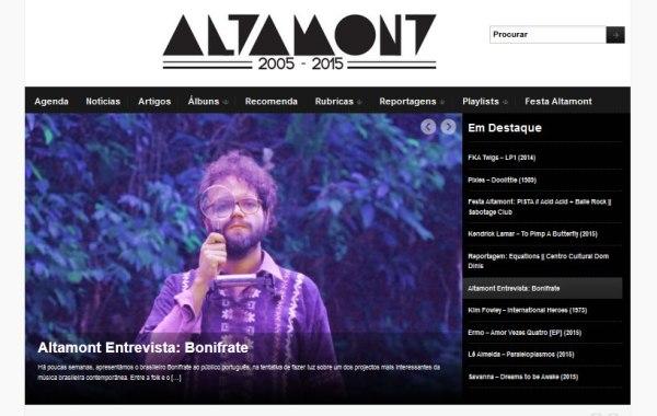 Altamont entrevista